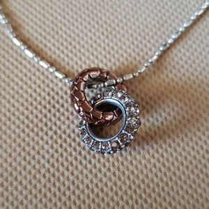 Brighton Double Circle Necklace